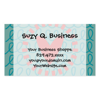 Fun Whimsical Doodle Heart and Swirls Pack Of Standard Business Cards