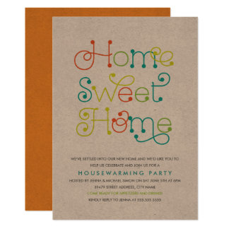 Fun & Whimsical Housewarming Party Invitation