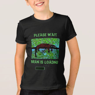 Fun Wild Animal Brain is Loading! T-Shirt