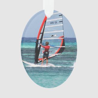 Fun Windsurfing Ornament