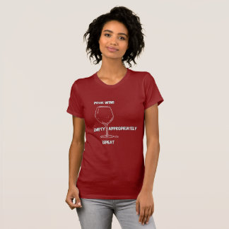 Fun Wine Tee Shirt