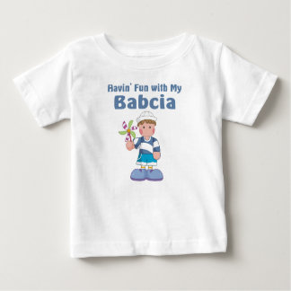 Fun with Babcia Baby T-Shirt