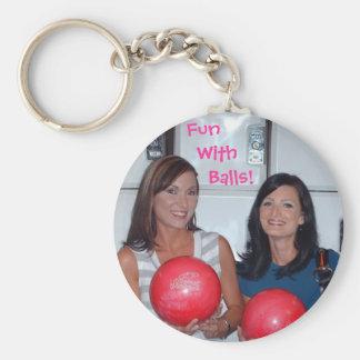 Fun With Balls Key Ring