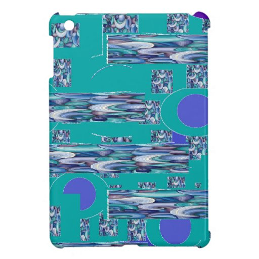 Fun with blue iPad mini cases
