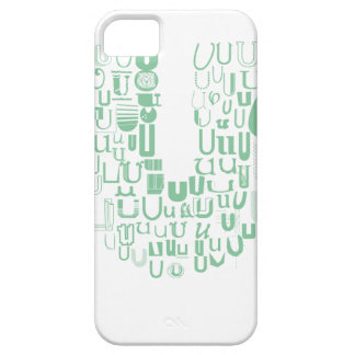 Fun with Fonts U Barely There iPhone 5 Case