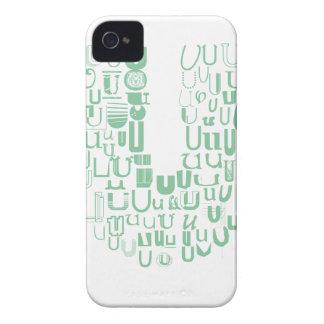 Fun with Fonts U iPhone 4 Case-Mate Case