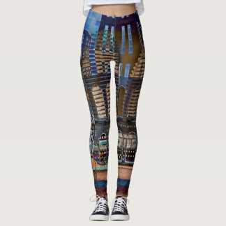 Fun with Modern Architecture! Leggings