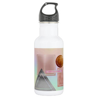 Fun with shapes,metallic,gold,rose gold,silver,ult 532 ml water bottle