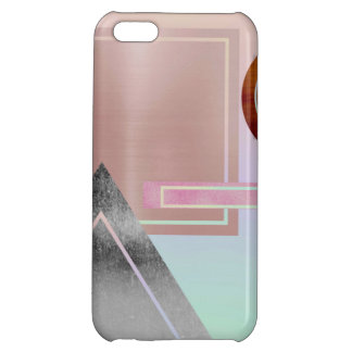 Fun with shapes,metallic,gold,rose gold,silver,ult case for iPhone 5C