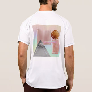 Fun with shapes,metallic,gold,rose gold,silver,ult T-Shirt