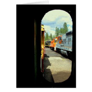 Fun With Trains Card