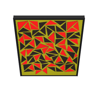 Fun with Triangles Canvas Print