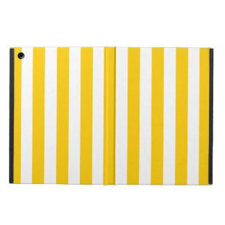 FUN YELLOW MODERN LINES PATTERN CASE FOR iPad AIR