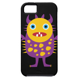 Fun Yellow Purple Monster Creature Gifts for Kids iPhone 5 Covers