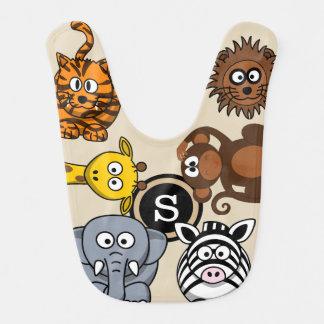 Fun Zoo Animals Bib