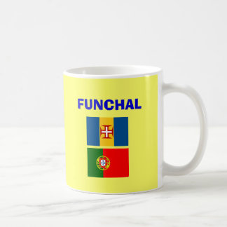 Funchal Madeira Airport Mug