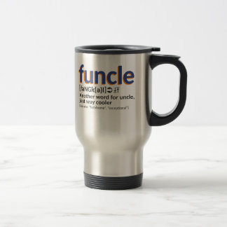 Funcle definition travel mug