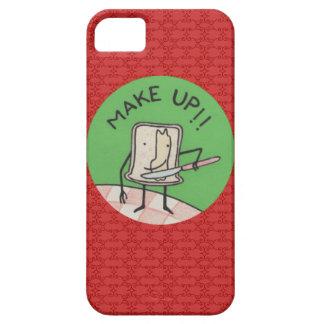 funda iphone make up iPhone 5 fundas