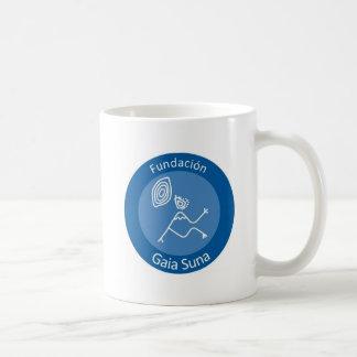 Fundacion Gaia Suna Basic White Mug