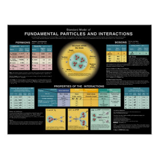 Fundamental Particles and Interactions Poster