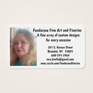 Fundarosa Business Cards
