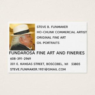 Fundarosa Fine Art Business Cards