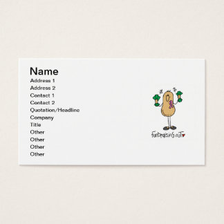 Fundraising Nut T-shirts and Gifts Business Card