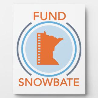 fundsnowbate Circle Logo Plaque