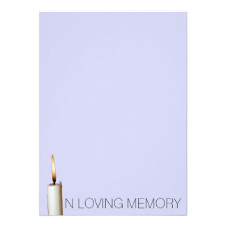 Funeral Announcements - In loving memory