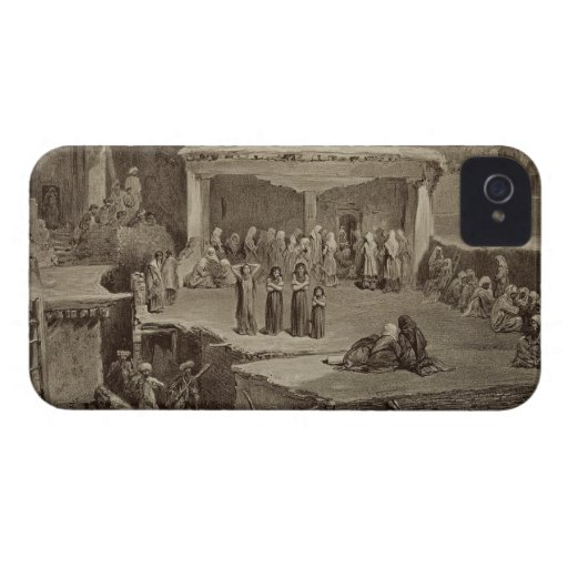 Funeral Ceremony in the Ruins at Akhaltchi, Dagest Case-Mate iPhone 4 Case