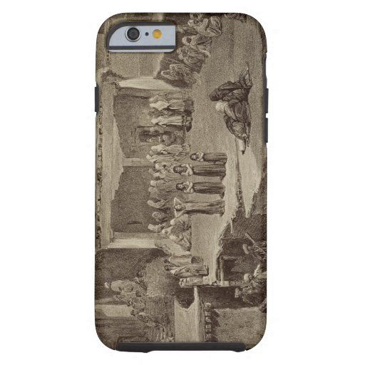 Funeral Ceremony in the Ruins at Akhaltchi, Dagest iPhone 6 Case