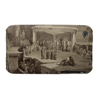 Funeral Ceremony in the Ruins at Akhaltchi, Dagest iPhone 3 Case-Mate Cases