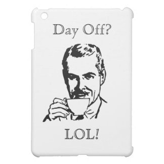 Funeral Director Day Off iPad Case