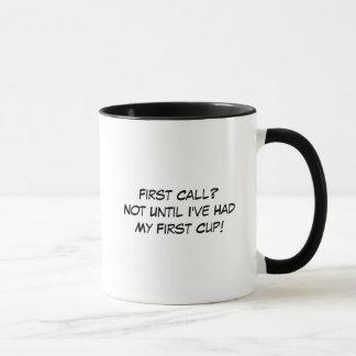 Funeral Director First Call Coffee Mug
