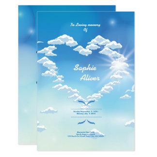 Funeral Memorial Prayer Card