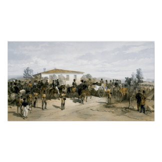 Funeral of Field Marshal Lord Raglan Poster