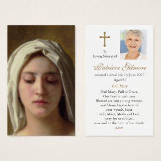 Funeral Prayer Card | Charity