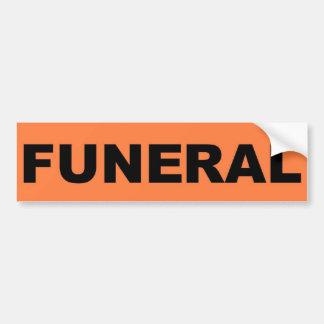 funeral Sticker