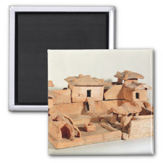 Funerary model of a farm, from Thanh Hoa Fridge Magnets