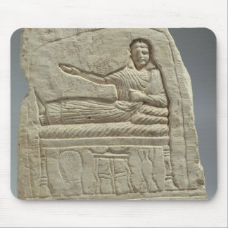 Funerary stela in the name of the lady Artemis, fr Mouse Pad