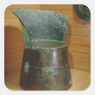 Funerary throne, Villanovan period, 1st half 7th c Square Sticker