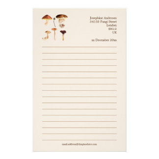 Fungi Art Stationery
