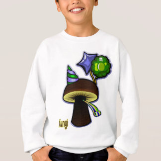 Fungi - Bad Pun Cartoon Sweatshirt