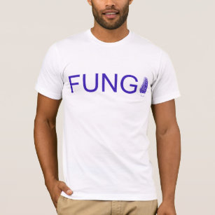 684805a5 fungi (fun guy) joke pun silly mushroom fungus T-Shirt