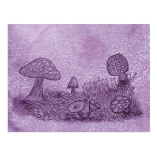 Fungi Meadow Postcard