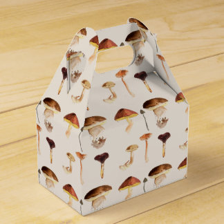 Fungi: Watercolour Art Favour Box