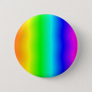 Funhouse Rainbow #2 6 Cm Round Badge