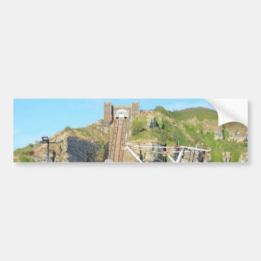 Funicular Railway Hastings Bumper Sticker