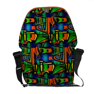 Funky Abstract Art Bag! #3 Commuter Bag