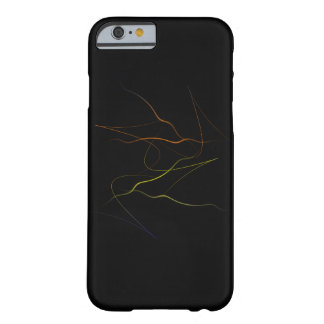 Funky Abstract Colors Barely There iPhone 6 Case
